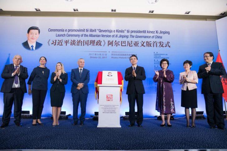 Prezantohet libri i Xi Jinping në Gjuhën Shqipe