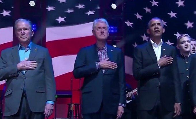 5 ish-Presidentët amerikanë së bashku