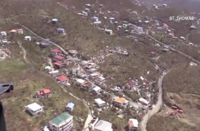 """""""Maria"""" përmbyt dhe le pa energji elektrike Porto Rikon"""
