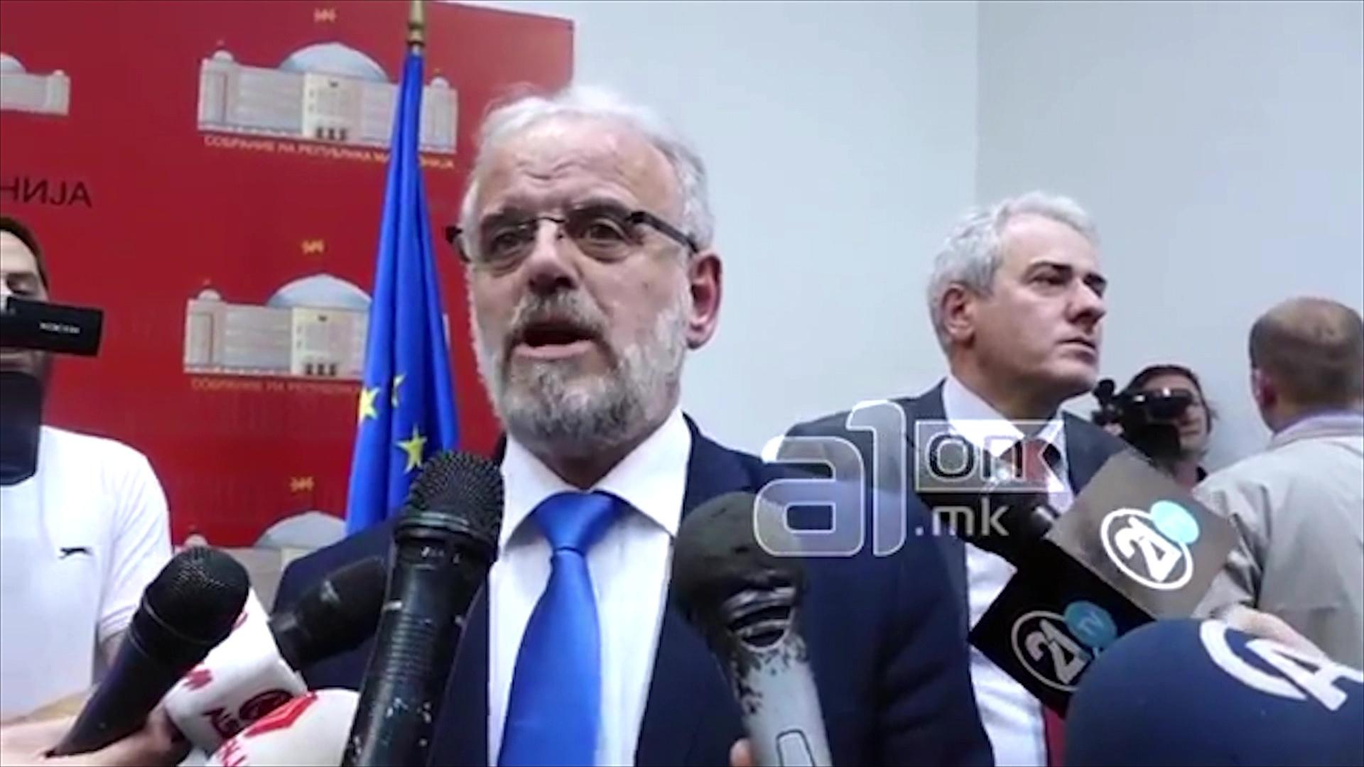 Shkup, Xhaferri kërkon respektimin e procedurave për deputetët e arrestuar