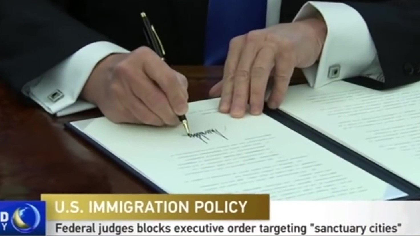 Gjykatësi federal bllokon urdhrin e Trump kundër qyteteve që ndihmojnë emigrantët