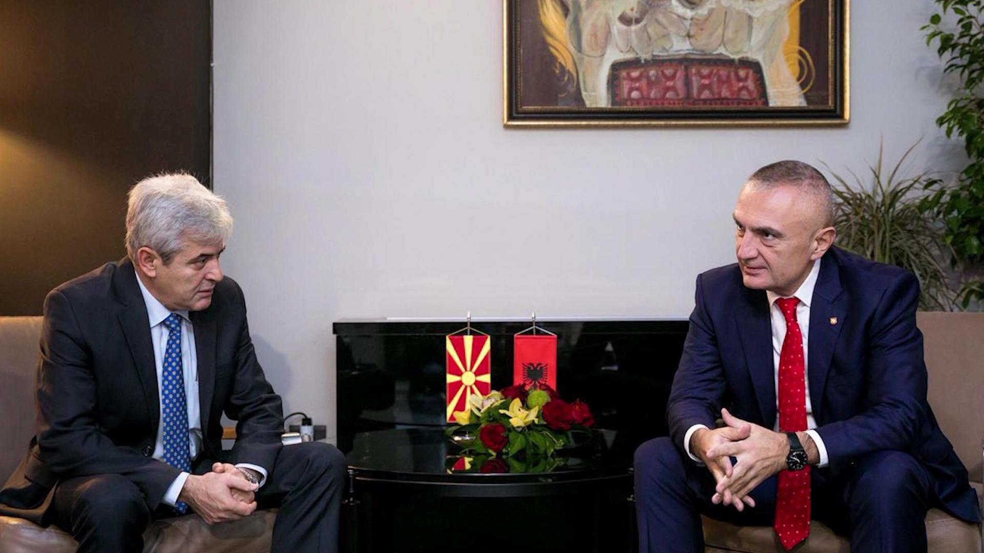 Meta në Maqedoni, takime me krerët e partive politike shqiptare e Gruevskin