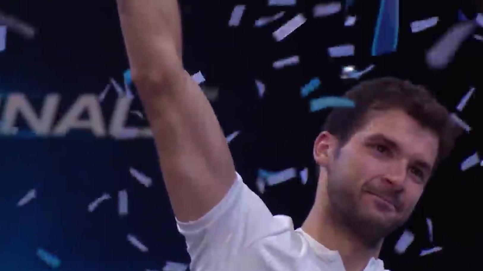 Grigor Dimitrov është më në fund një kampion në tenis
