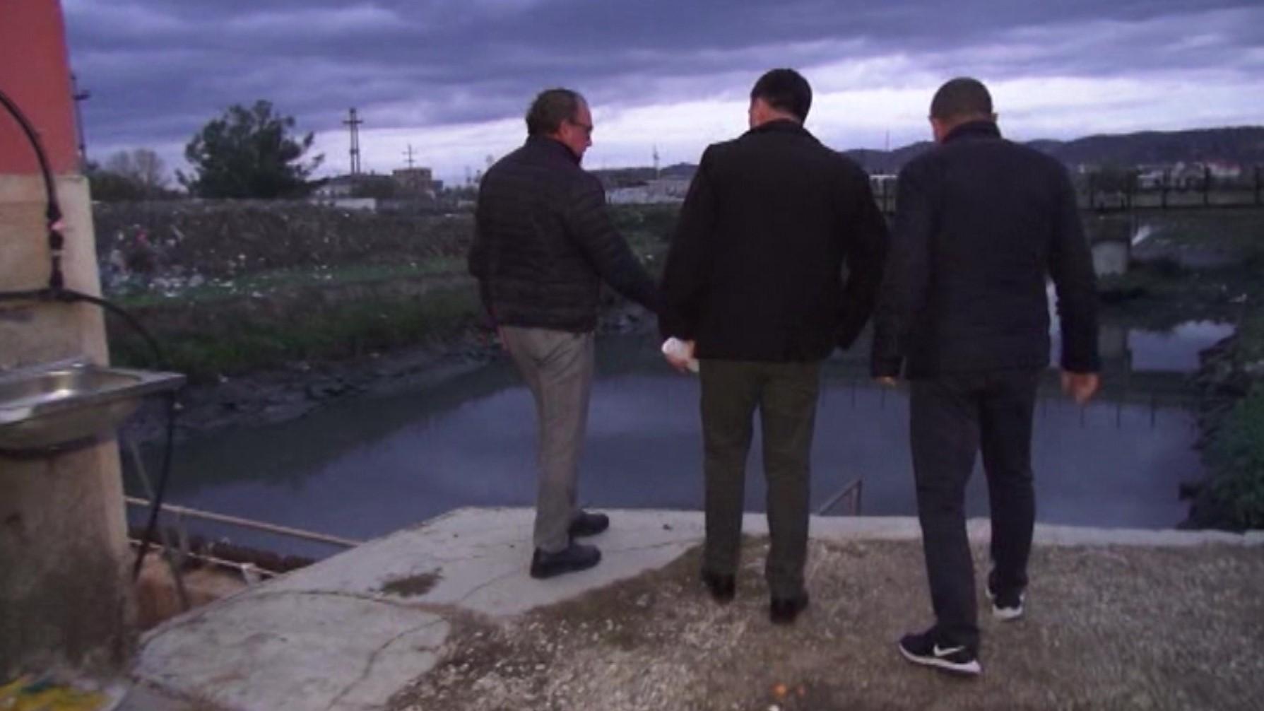 Prefekti dhe kryebashkiaku i Vlorës inspektojnë hidrovoret