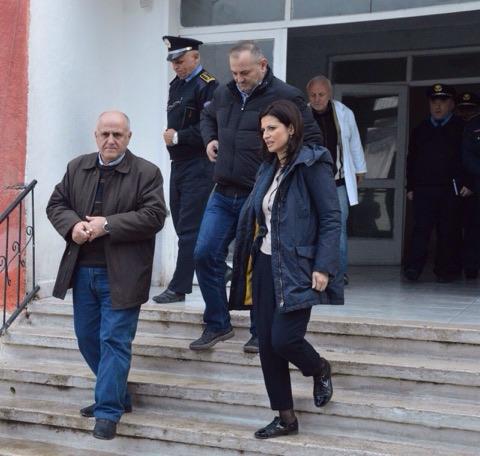 Ministrja Gjonaj inspekton burgun e Zaharisë në Krujë