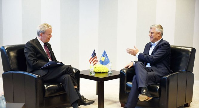 Gjykata Speciale, Thaçi përplaset me ambasadorin amerikan