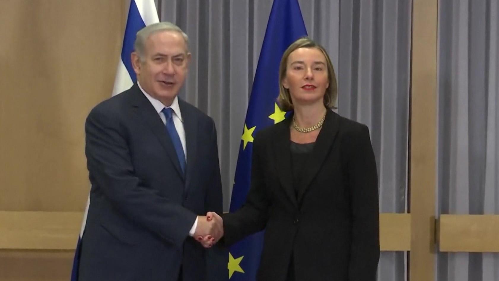 Mogherini shuan shpresat e Netanyahut