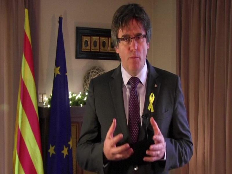 Puigdemont në fjalimin e fundvitit