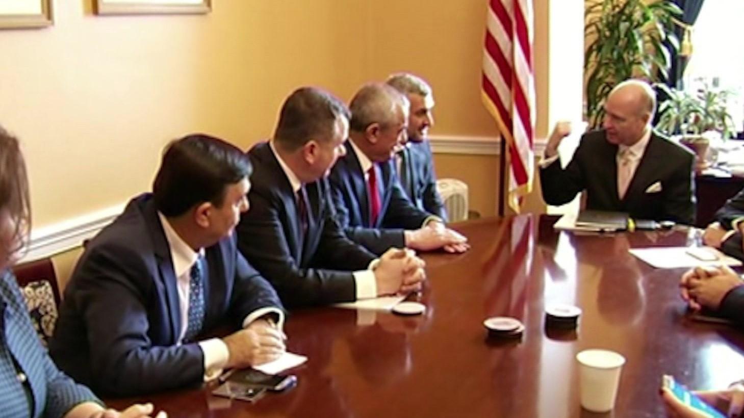 Ruçi në SHBA, diskuton me senatorë e kongresmenë heqjen e tatimit të dyfishtë