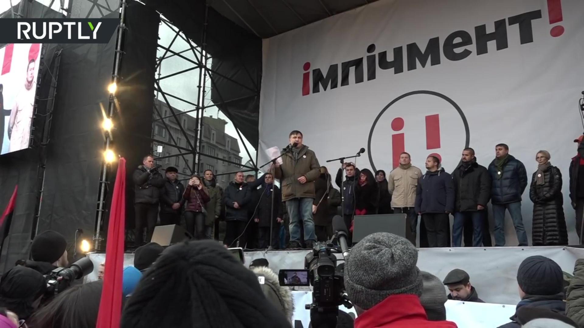 Ish-Presidenti gjeorgjian Saakashvili arrestohet nga policia ukrainase
