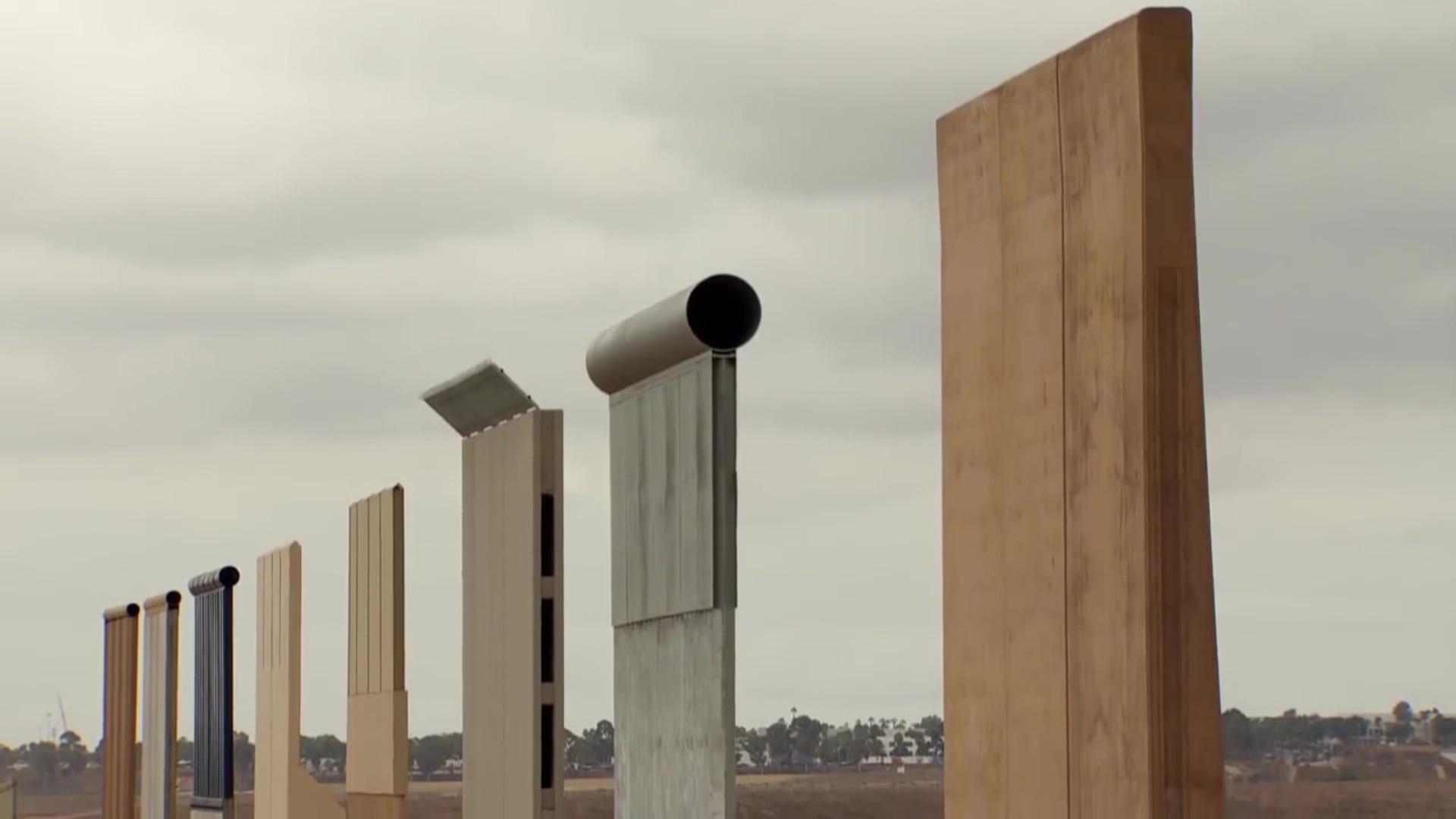 Përfundon ndërtimi i prototipeve të murit SHBA-Meksikë