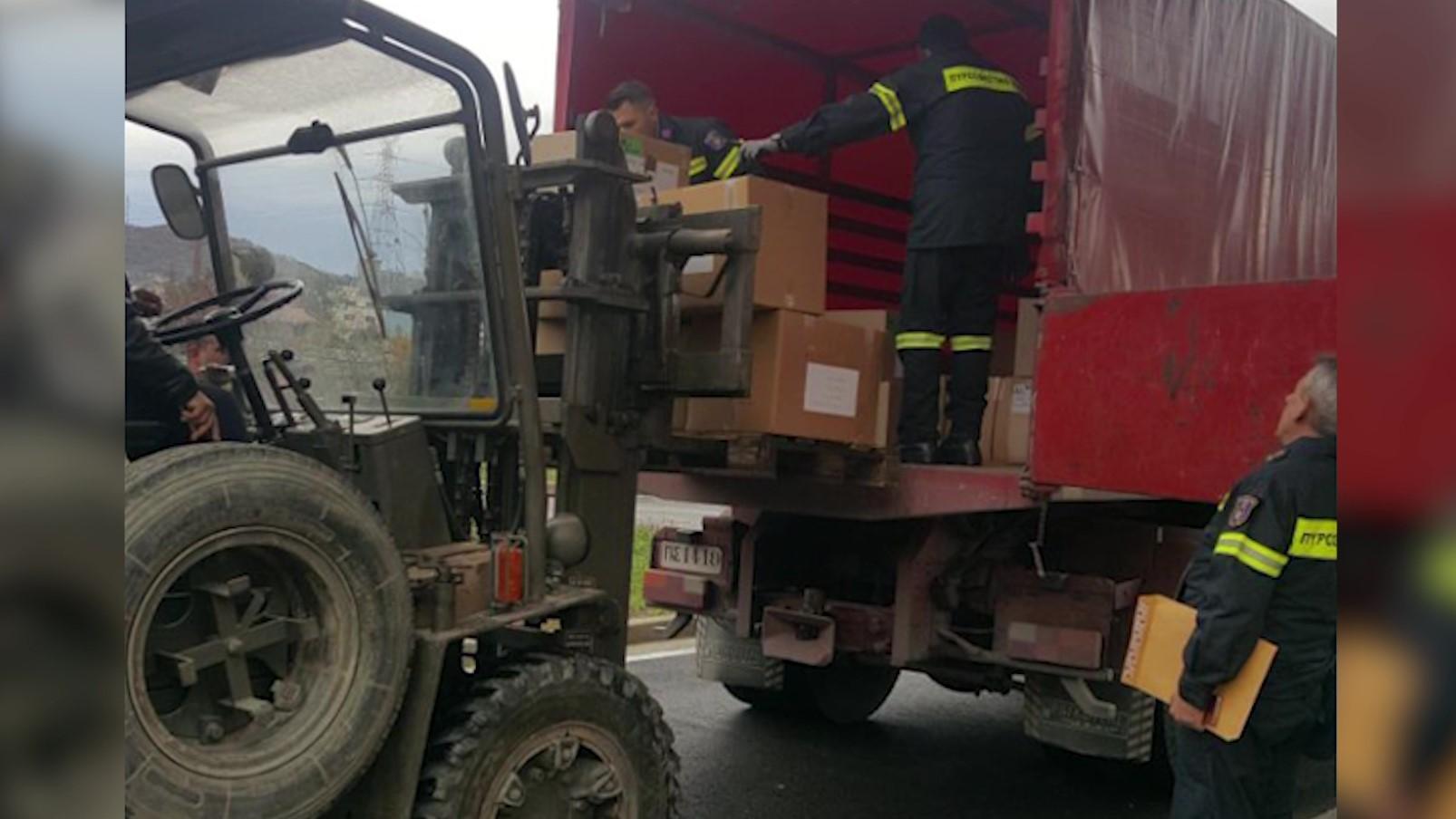 FA shpërndajnë 70 tonë ndihma në zonat e përmbytura