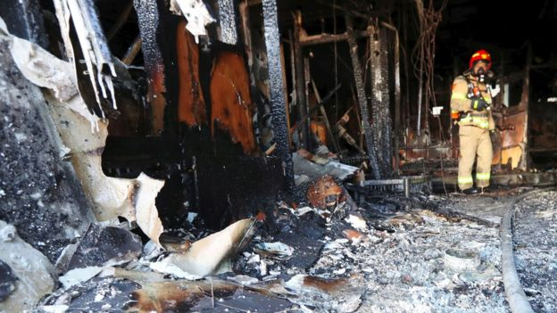 Kore e Jugut, zjarri shkakton tragjedi në një spital, 41 viktima