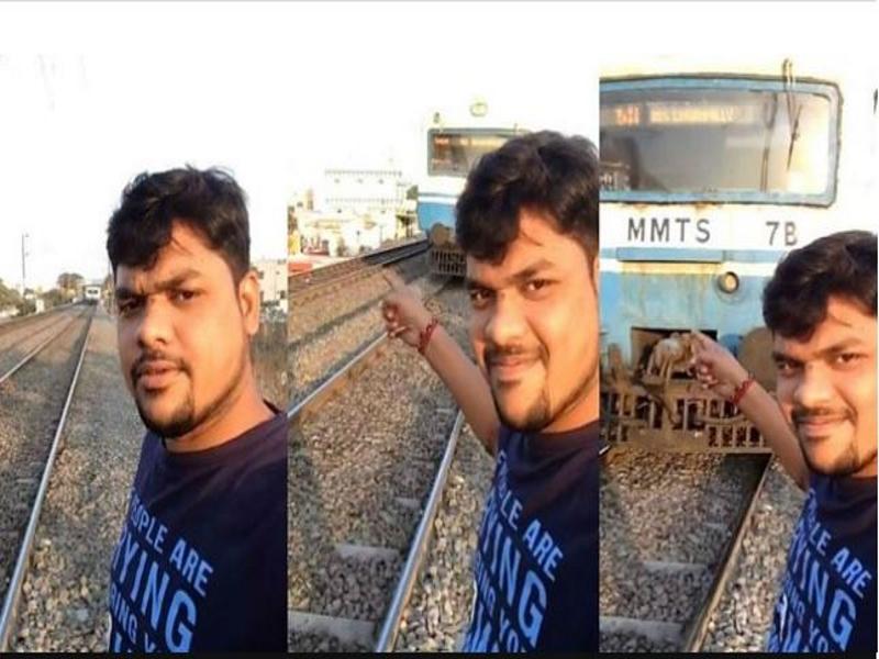 Video/ Në kërkim të selfie-t perfekt, pret dhe e përplas treni