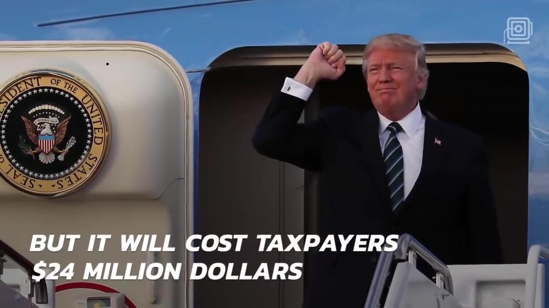 """Trump shpenzon 24 milionë dollarë për të ndërruar 2 frigoriferë në """"Air Force One"""""""