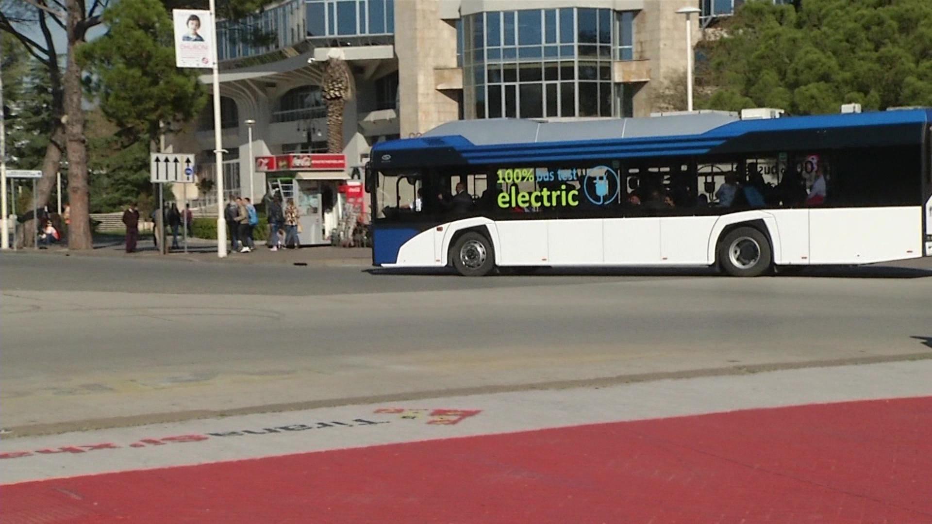 Veliaj: Linja e parë e autobusëve elektrikë në fund të janarit