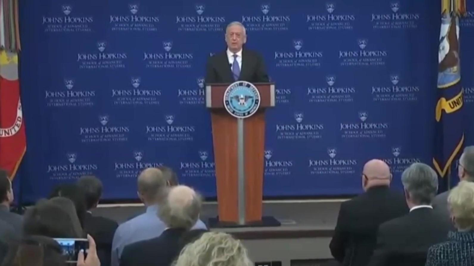 James Mattis: Kina dhe Rusia kërcënim në rritje për SHBA-në
