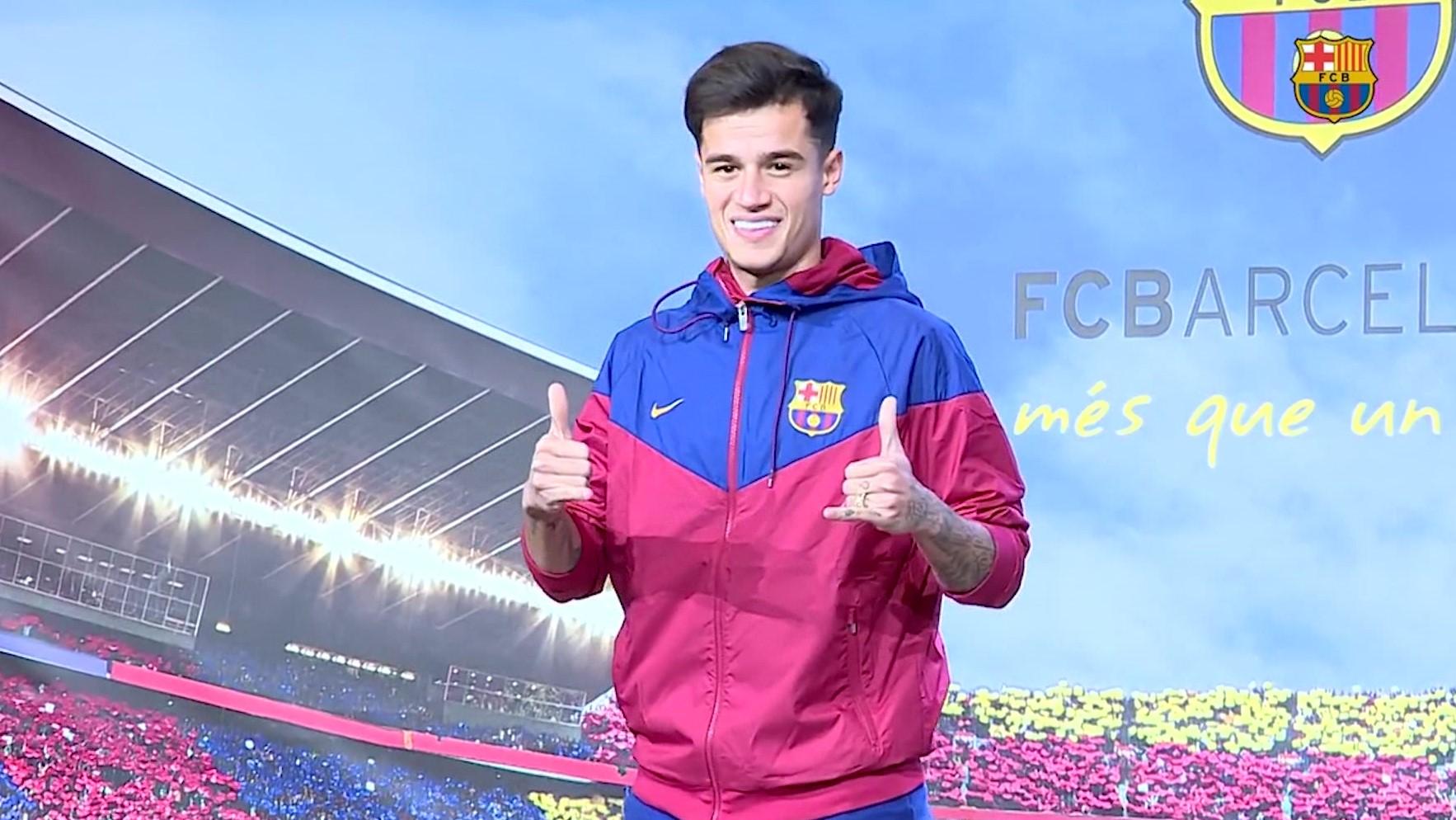 Filip Kutinjo prezantohet si lojtar i Barcelonës