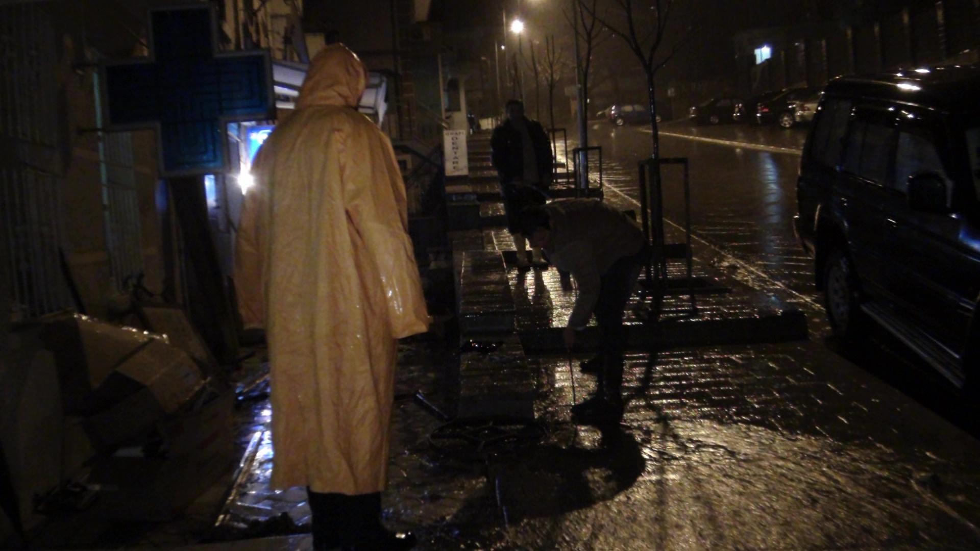 Çahen tubacionet e një HEC-i privat/Përmbytje në Librazhd
