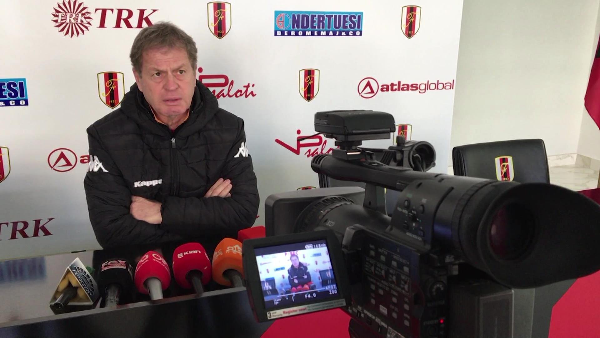 Flamurtari-Partizani, takim i veçantë për trajnerin Duro