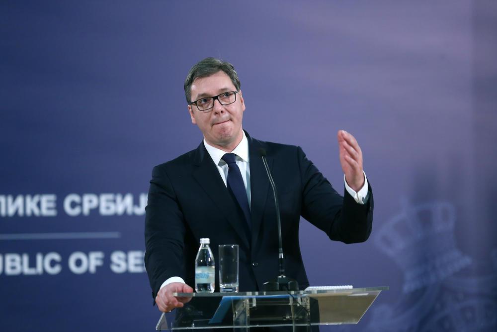 Vuçiç: S'do pranojmë njohjen e plotë të Kosovës në këmbim të anëtarësimit