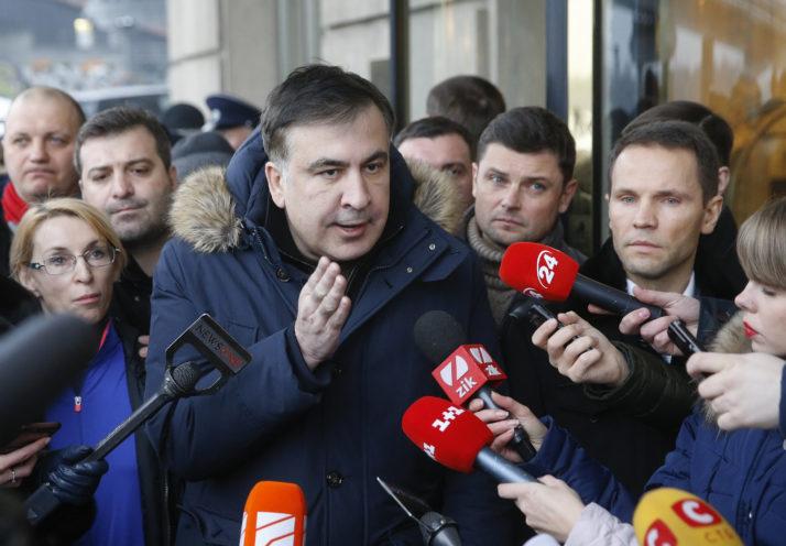 Sakashvili dëbohet nga Ukraina dhe dërgohet në Poloni