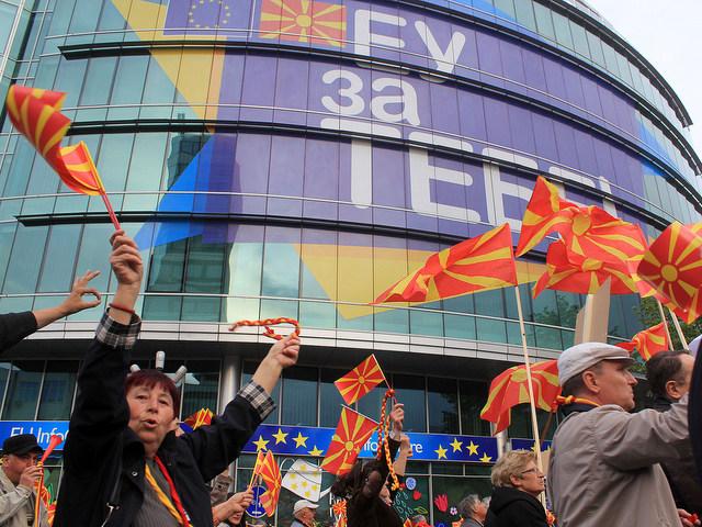 Shkup, protestë kundër ndryshimit të emrit