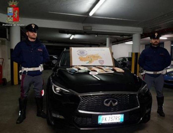 Arrestohet çifti shqiptar në Itali/Akuzohen për trafik ndërkombëtar droge