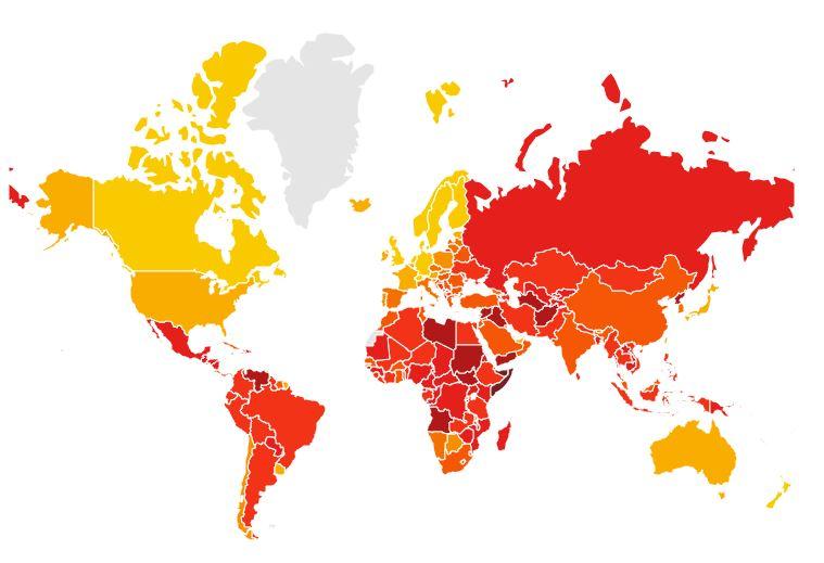 Korrupsioni, Shqipëria përkeqësohet në renditje