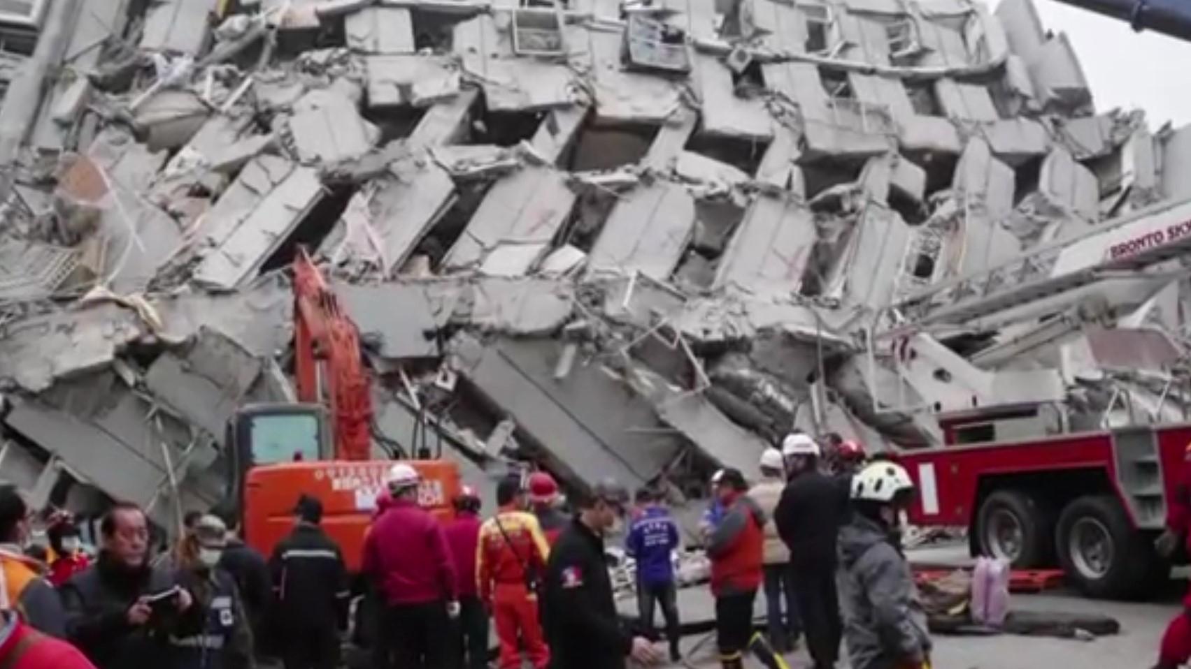 Tërmeti 6.4 ballë shkund Taivanin