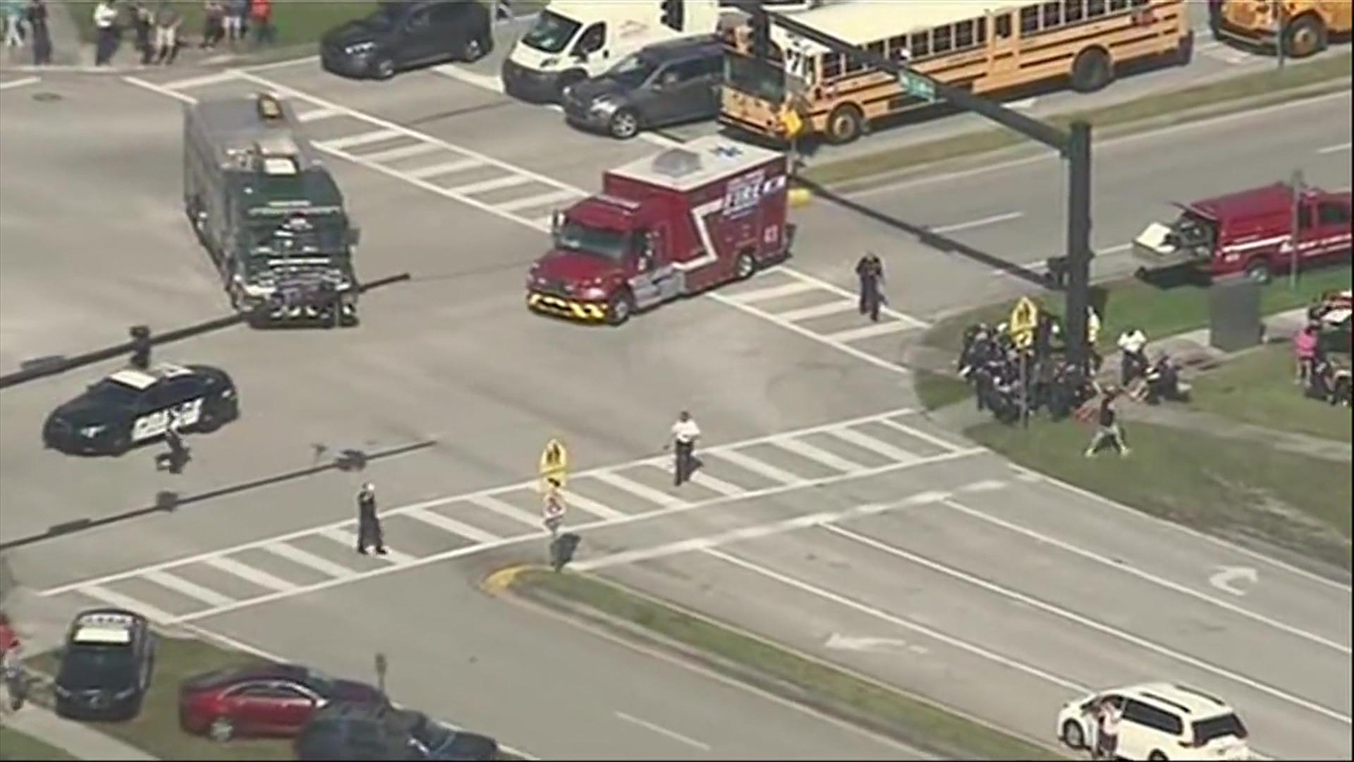 Masakra në Florida/Incidenti i 18 i këtij lloji në shkollat amerikane