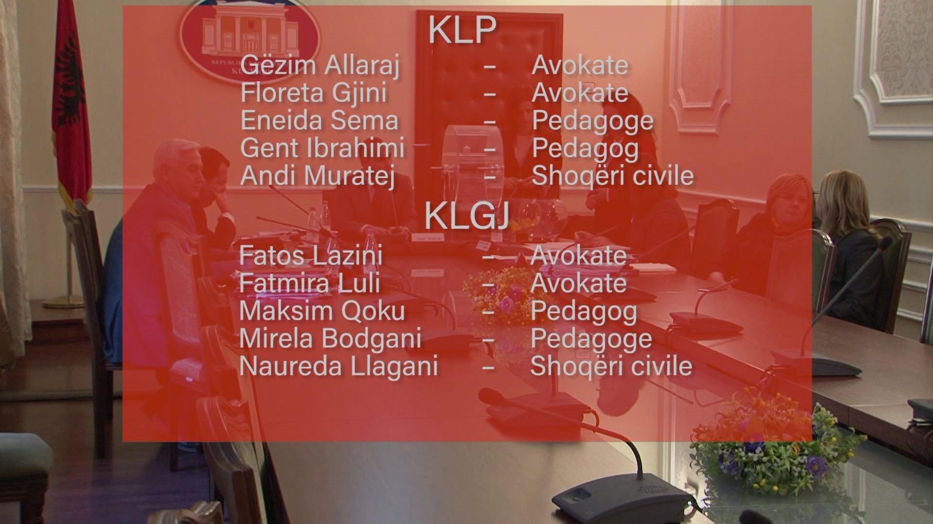 Kandidatët e KLGJ e KLP/Nënkomisioni duhet të caktojë emrat në listën e tretë brenda 2 ditësh