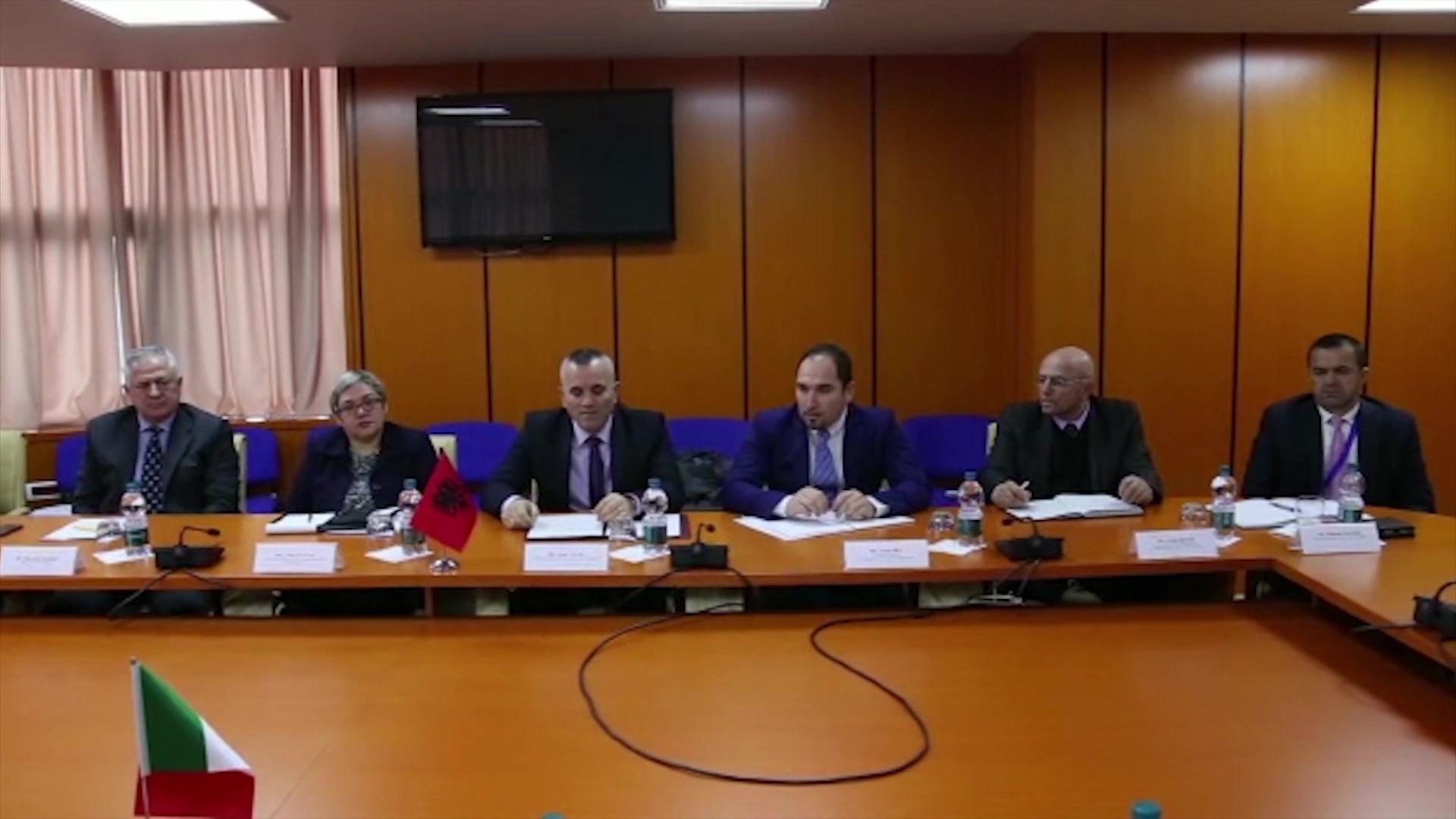 Kreu i Policisë Shqiptare takon delegacionin e Guardia di Financa