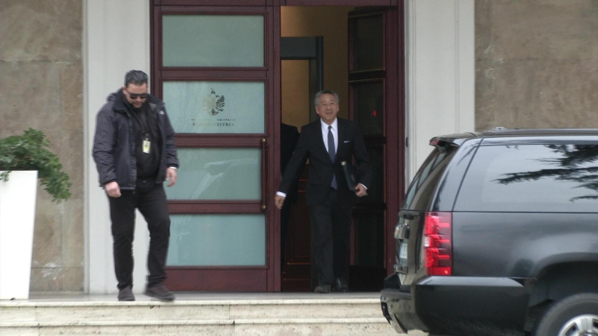 Takim informal i ambasadorit të SHBA, Donald Lu rreth 90 minuta në Kryeministri