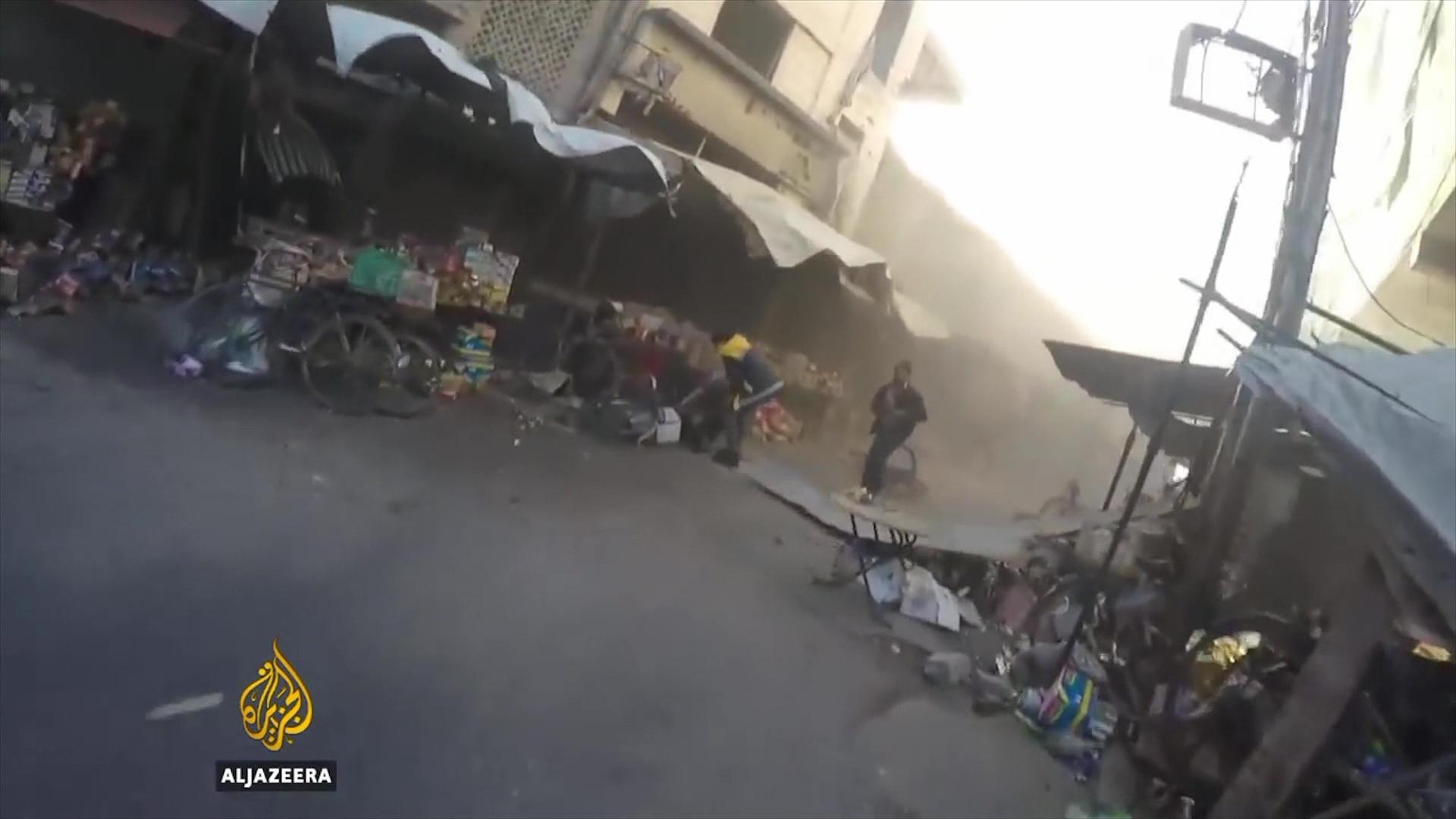 Siri, mbi 210 të vdekur nga bombardimet në rrethinat e Damaskut