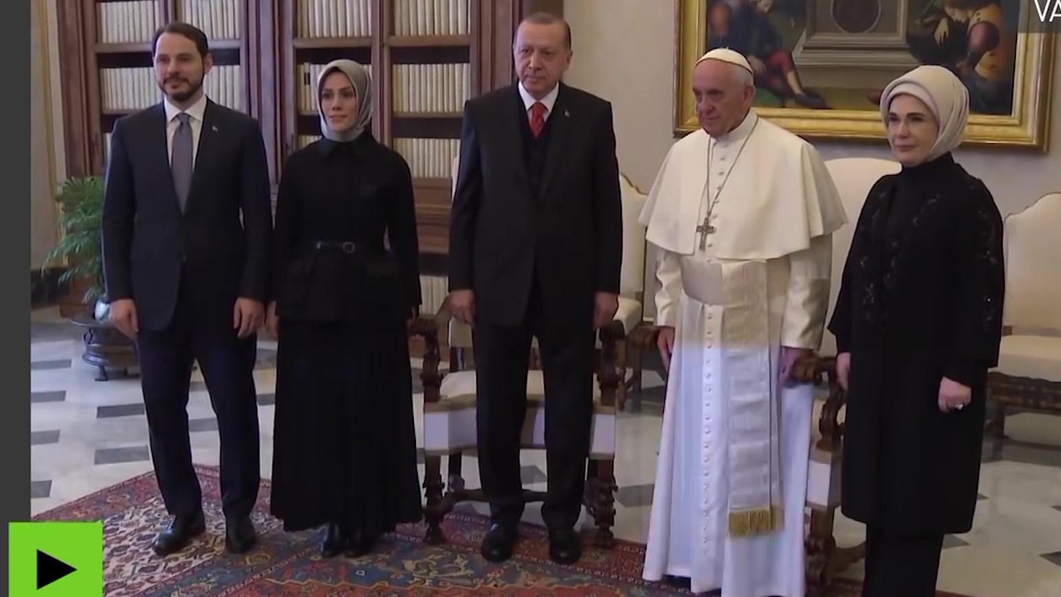 Statusi i Jeruzalemit, Erdogan tek Papa