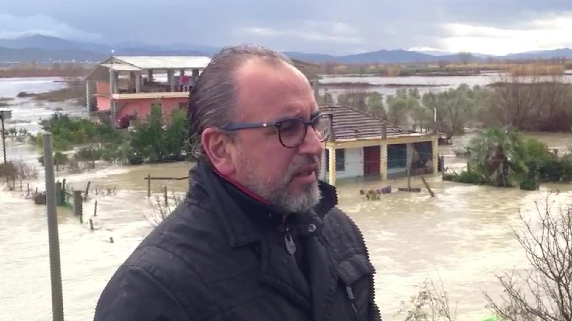 Shkon në 7.5 m niveli i ujit të Vjosës në Novoselë, kryetari bashkisë thirrje banorëve