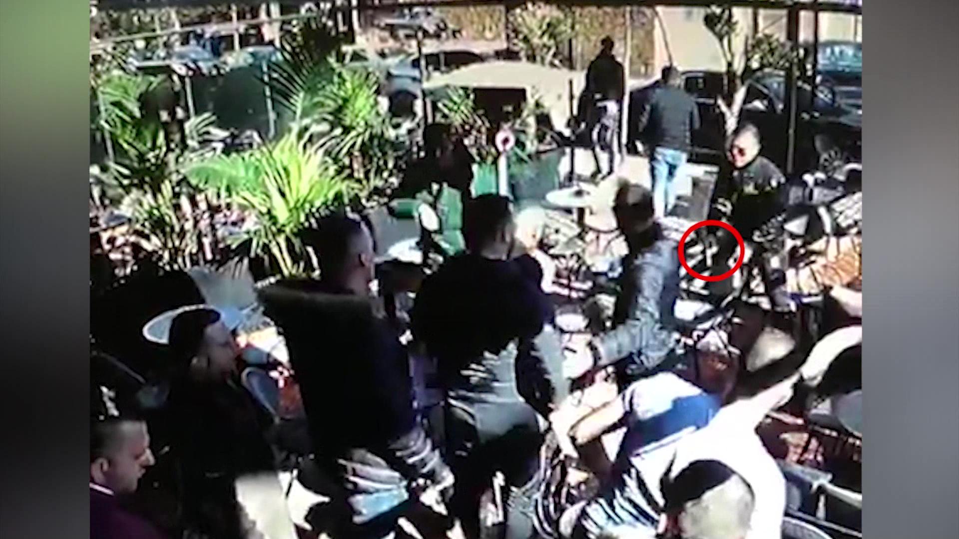 Video/ Çfarë ndodhi para plagosjes në Selitë të Tiranës