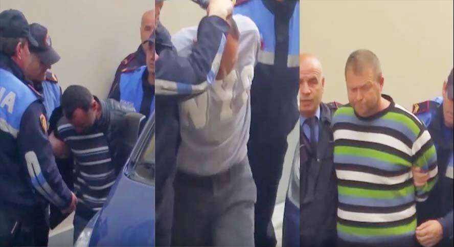 Burg tre grabitësve/Lulëzim Demiraj qan para gjykatës