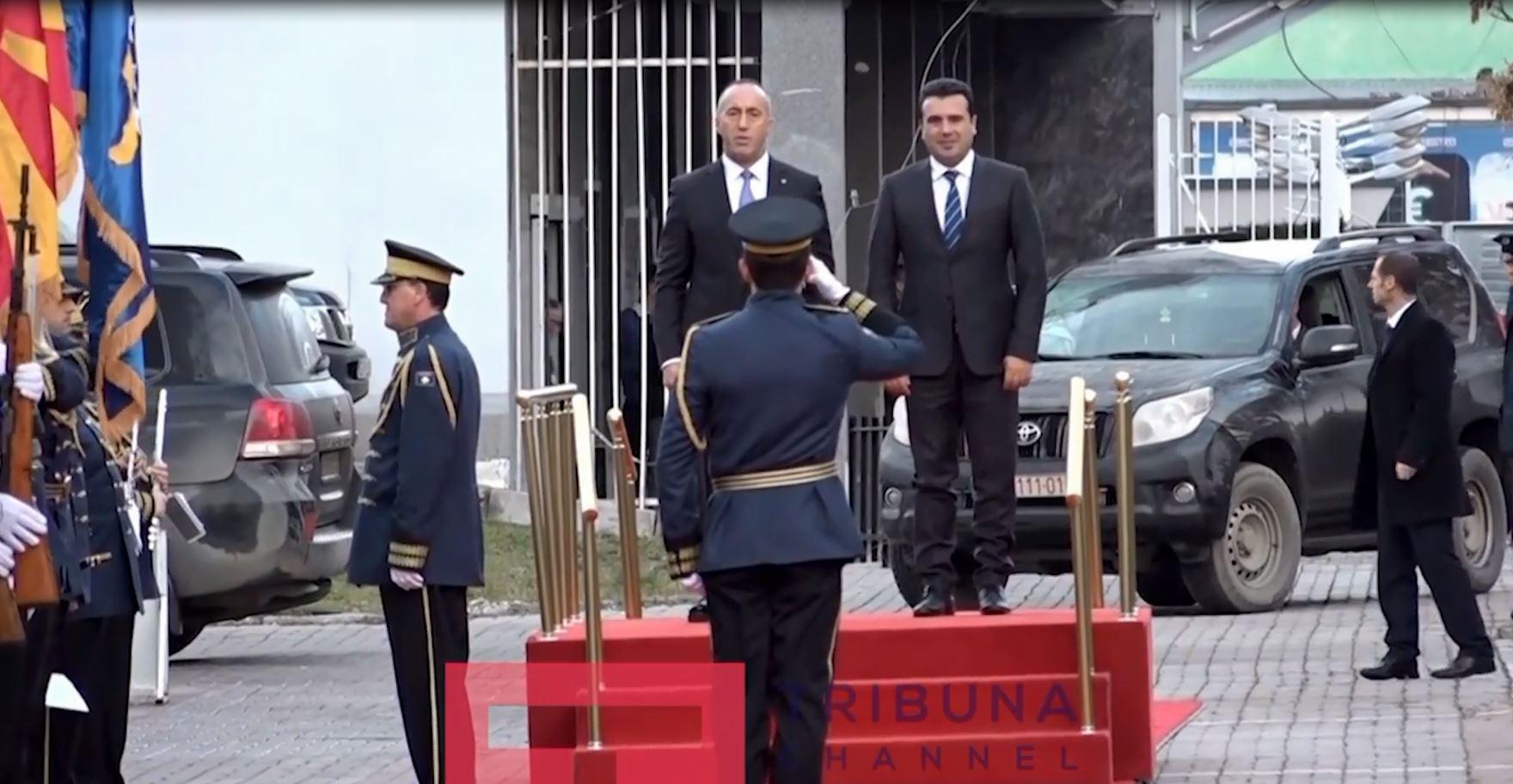 Mbledhje e përbashkët mes qeverive të Maqedonisë dhe Kosovës