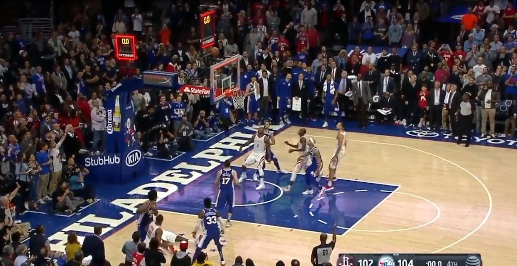 Hjustoni vendos rekord në NBA