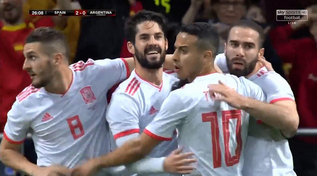 Isko synon Botërorin me Spanjën