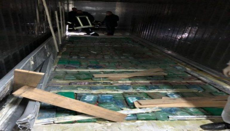 Kontenieri me kokainë, Doganat: Operacioni i yni