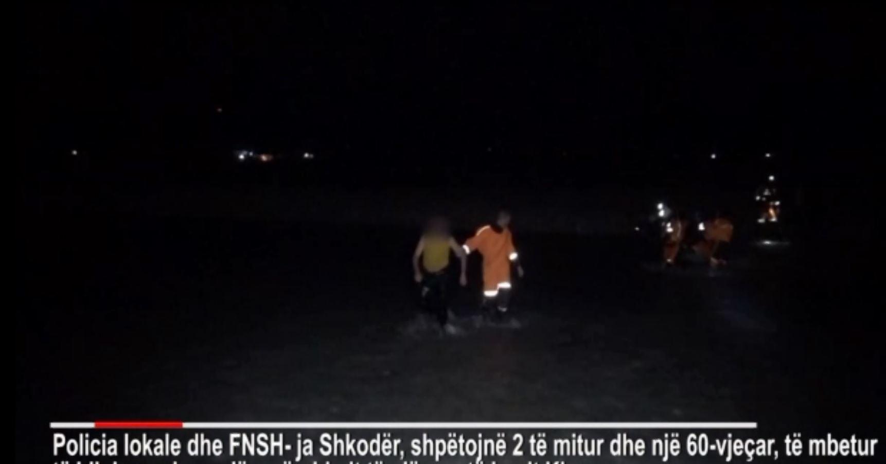 Shkodër, flet burri që shpëtoi dy të mitur nga mbytja në lum