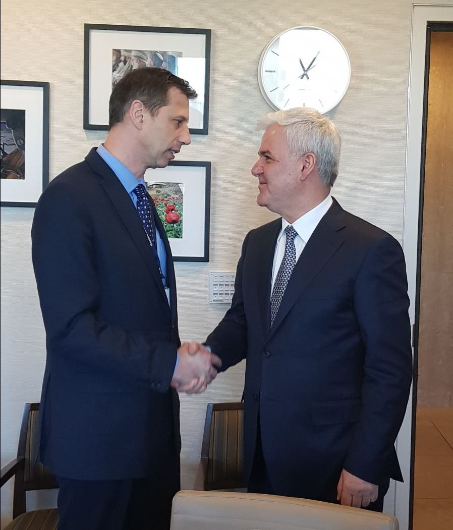 SHBA/ Fatmir Xhafaj takon Ndihmës Sekretarin e Shtetit