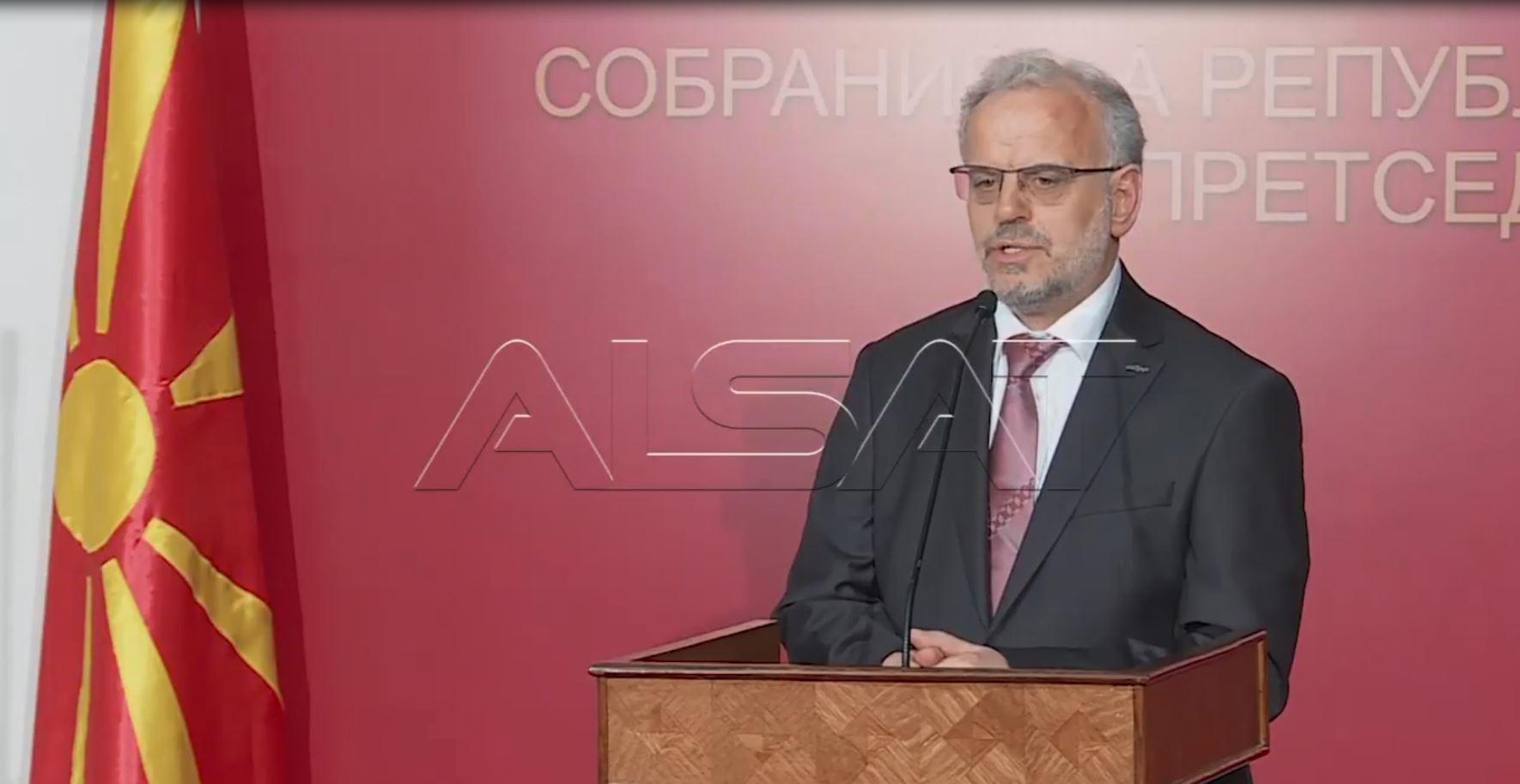 Maqedoni, Xhaferi: Ligji i Gjuhëve, në përputhje me rregulloren