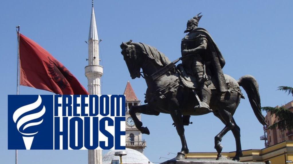 Freedom House: Demokracia në Shqipëri në vend-numëro