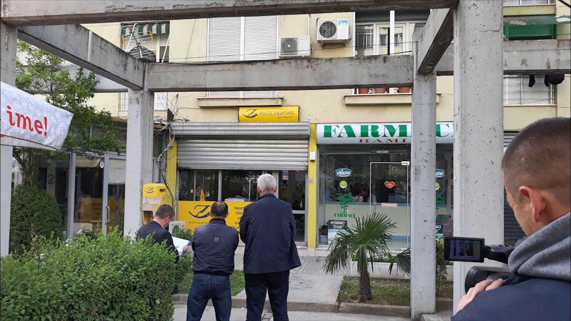 Grabitet me armë filiali i Postës Shqiptare në Laprakë