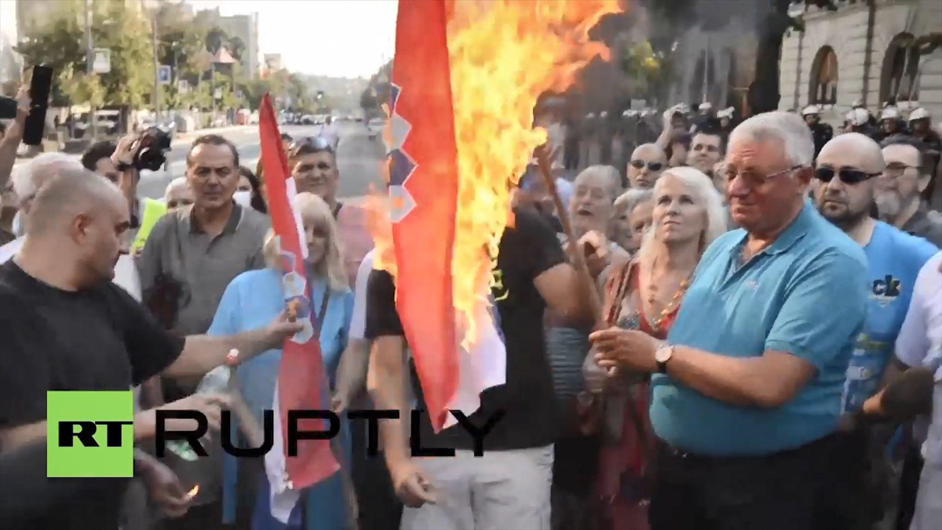 Përshkallëzohen tensionet Kroaci- Serbi pas incidentit me flamurin