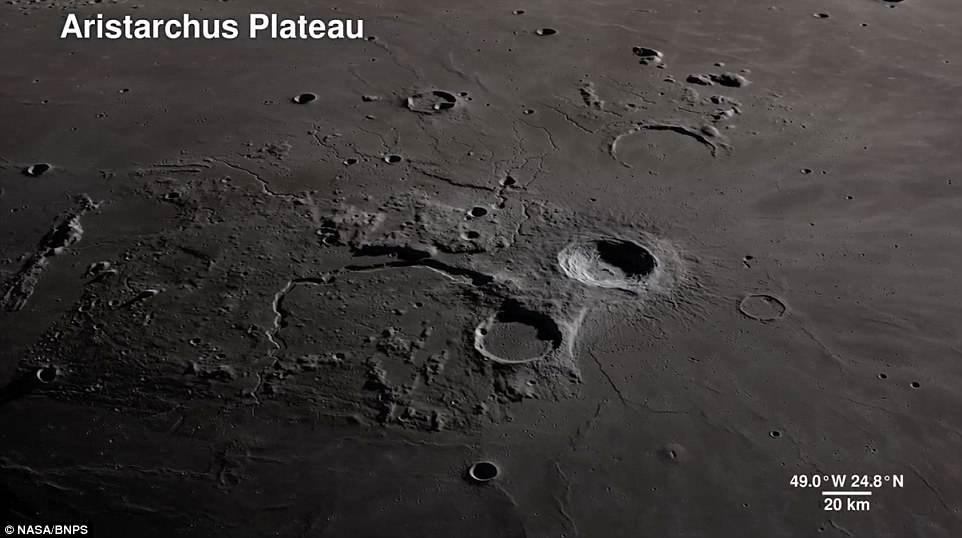 """Video/ Një """"tur"""" rreth Hënës"""